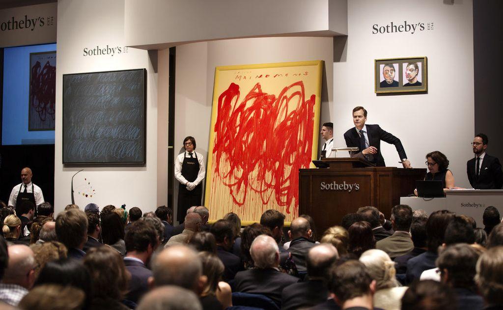 Фото з галере ST•H Gallery, торги аукціону  Сотбіс